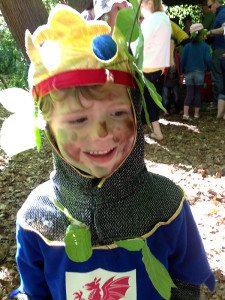 Little Man, at Elf Training.