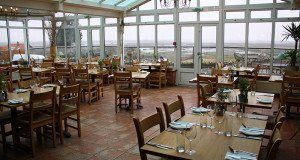 Restaurant at The White Horse, Brancaster.