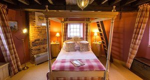 Accommodation at Cley Windmill in Norfolk.