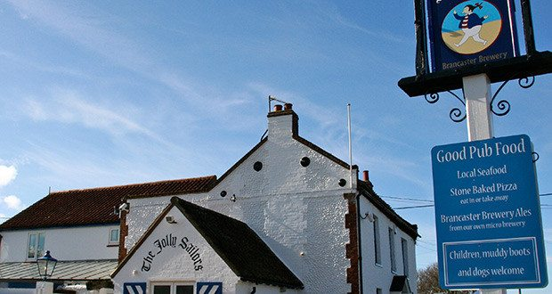 The Jolly Sailors, Brancaster Staithe, Norfolk.