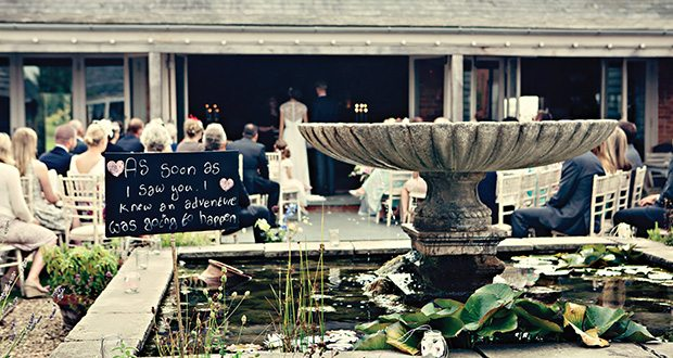 Weddings at Cliff Barns.