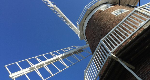 Cley windmill sails.