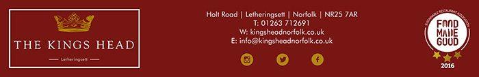 The King's Head at Letheringsett, near Holt.