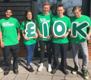 Anglian Country Inns and Macmillan Cancer Support