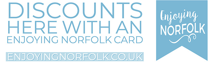 Enjoy more of Norfolk and save money with an Enjoying Norfolk Card.